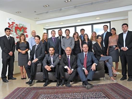 עורכי דין במשרד עמית פולק מטלון / צלם: איל יצהר